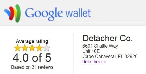 Google wallet testimonials